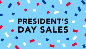 Presidents day sale 2019